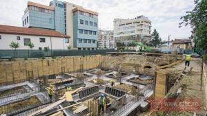 FOTO: A început construcția blocului de pe strada Titulescu. Primele apartamente în Topaz Residence deja s-au vândut