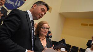 """Mărioara Popa, fondatoarea Centrului """"Daniel"""", a primit titlul de cetățean de onoare al Bacăului"""