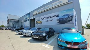 FOTO: Sesiuni de test drive cu noul BMW X3 şi primul BMW X2, în Bacău. Zilele Porţilor Deschise Automobile Bavaria, între 21 şi 23 iunie