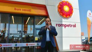 FOTO: Rompetrol a inaugurat prima stație de carburant de pe centura mică a Bacăului. Unitatea este prima cu încărcare electrică