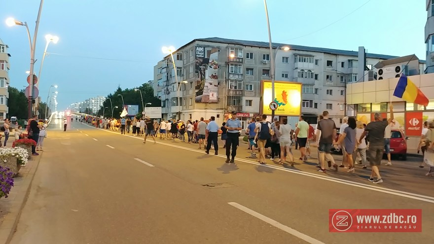 proteste in bacau