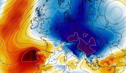Un val de aer polar va ajunge în România la sfârșitul săptămânii. Temperaturile vor scădea și cu 10 grade Celsius