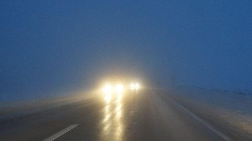 circulatie ceata drum national moldova