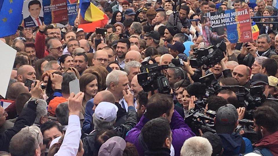 miting electoral craiova