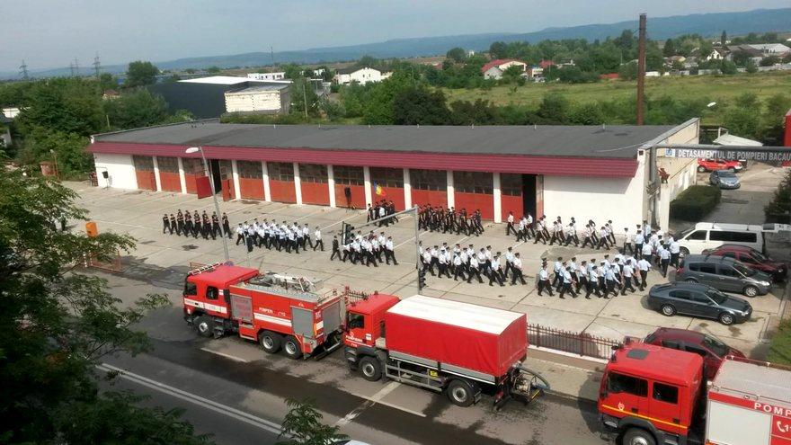 defilare pompieri